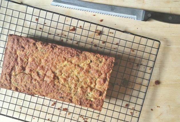 Grain-free Lemon Poppy Seed Zucchini Bread