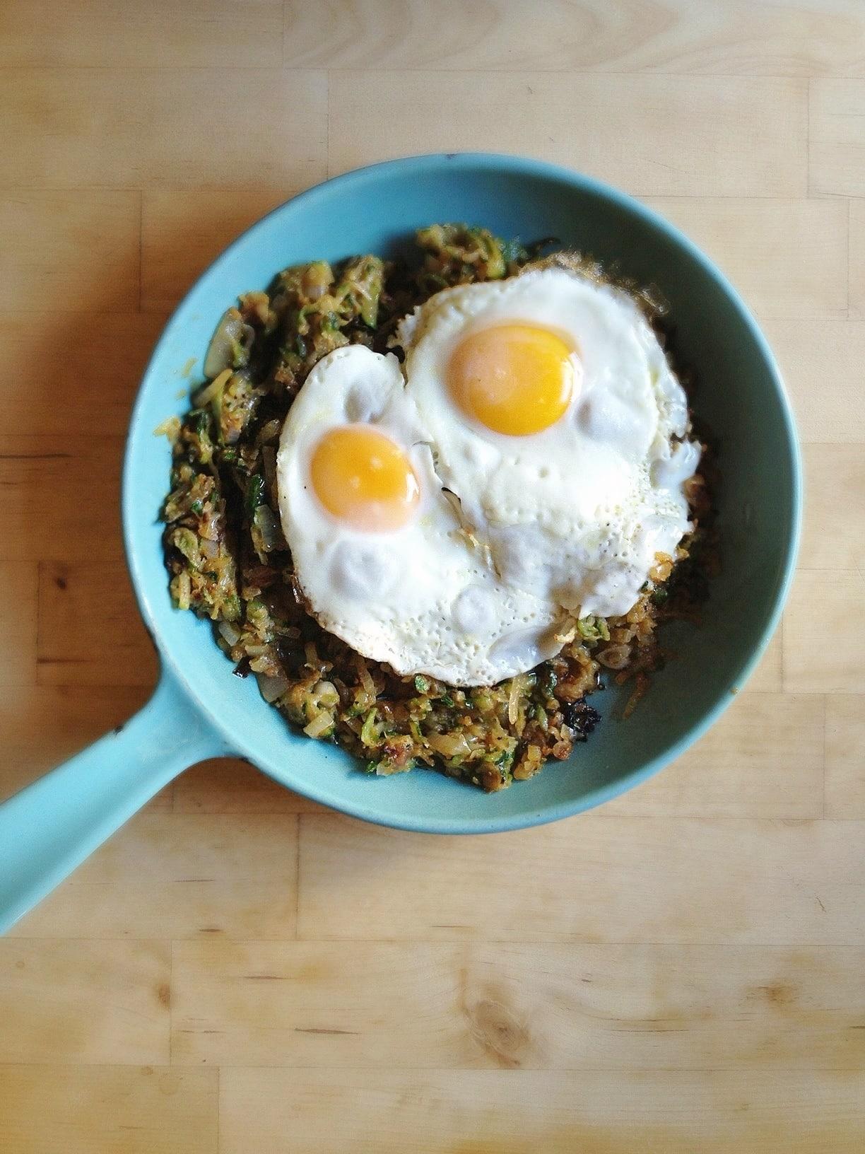 zucchini-hash-eggs