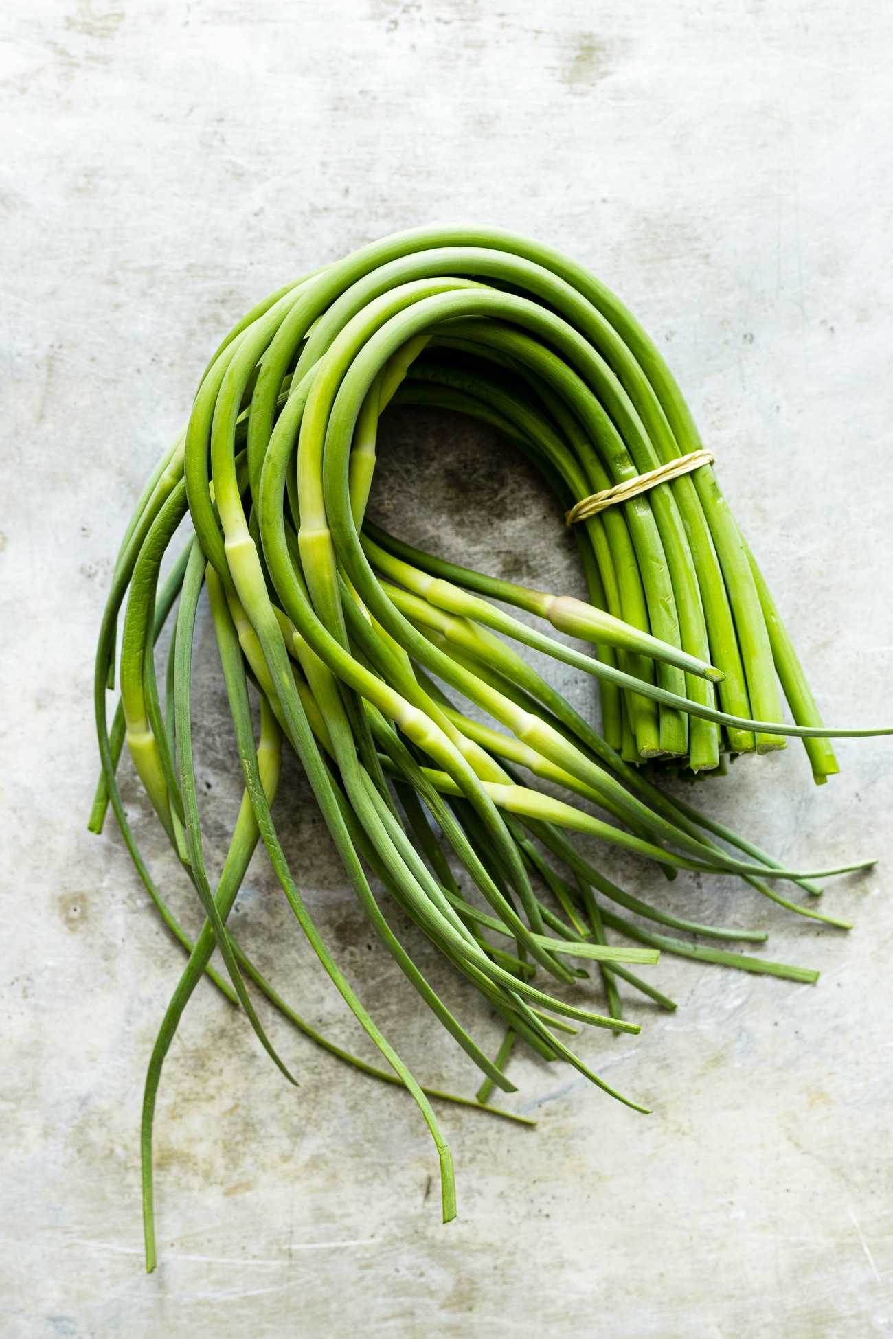 Grilled Garlic Scapes | @withfoodandlove