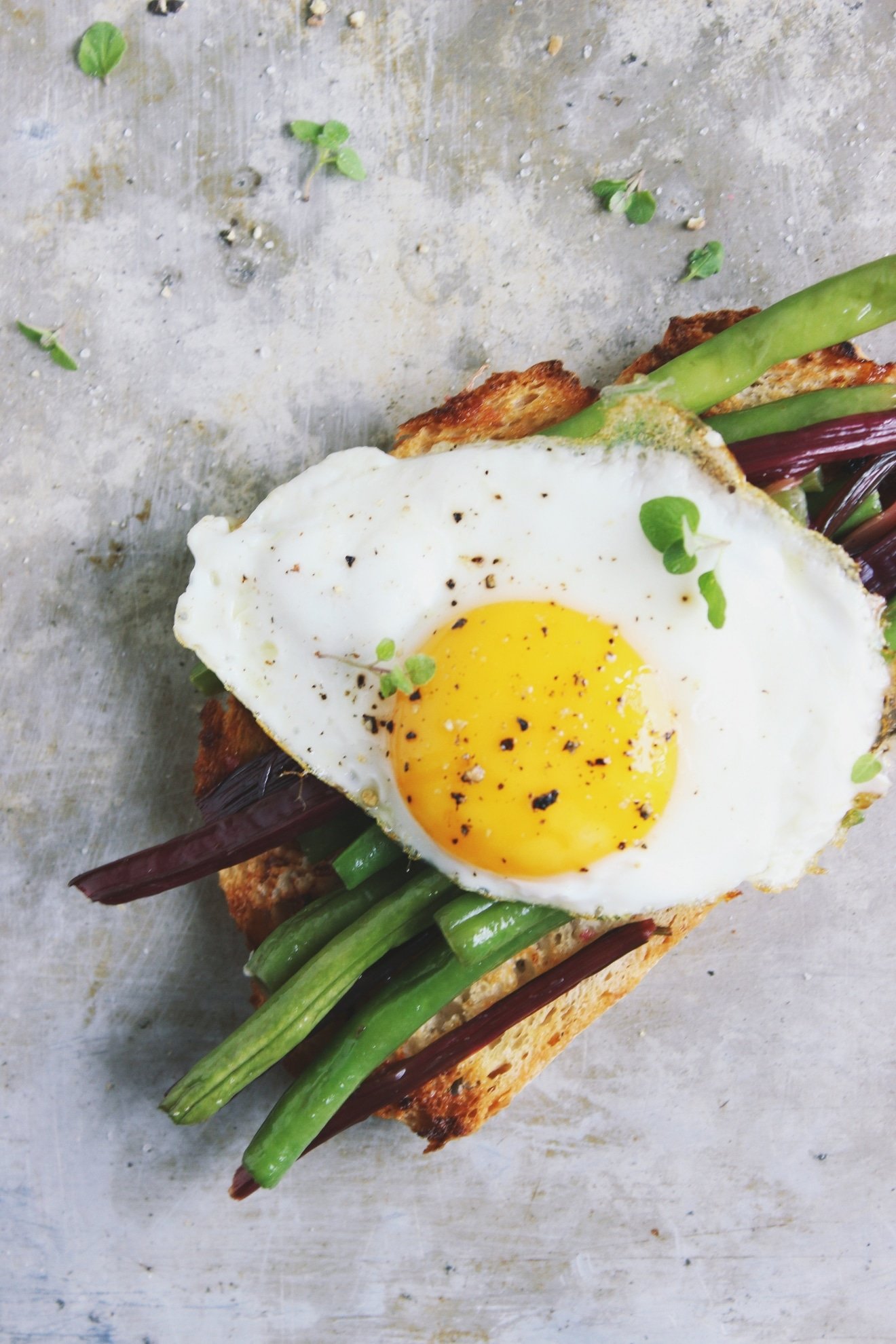 open-faced-egg-bean-sandwich (2)