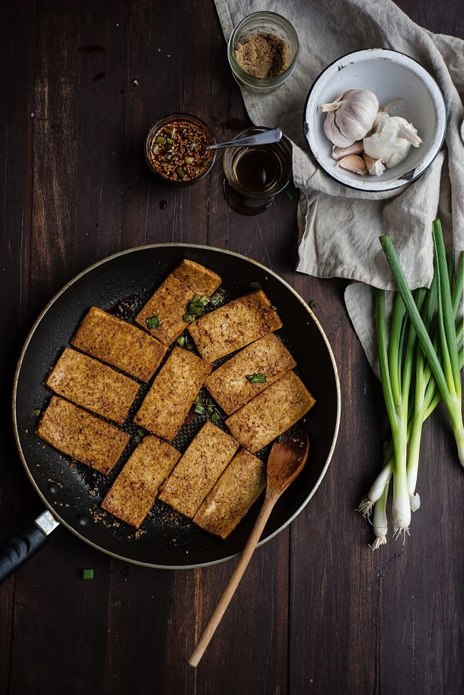 Soy-Braised Tofu a guest post by two red bowls!