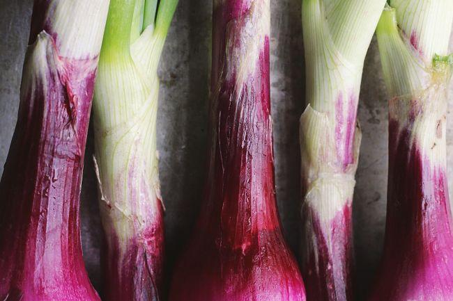 Espresso-Braised Spring Onions | @withfoodandlove