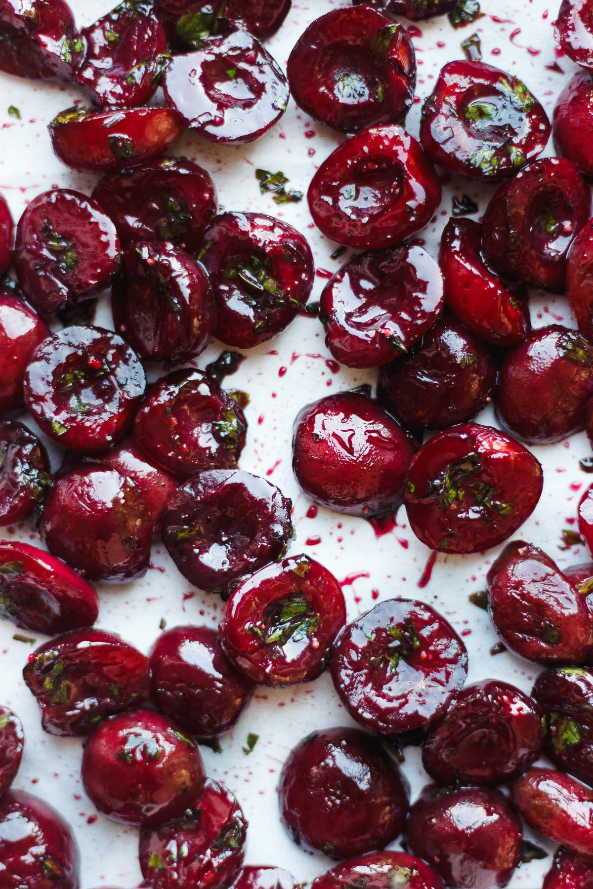 SAVORY ROASTED CHERRIES