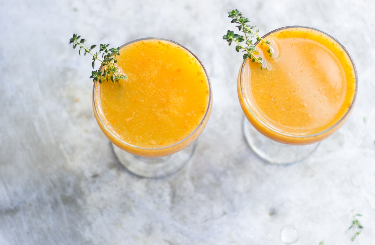The Persimmon Punch | @withfoodandlove