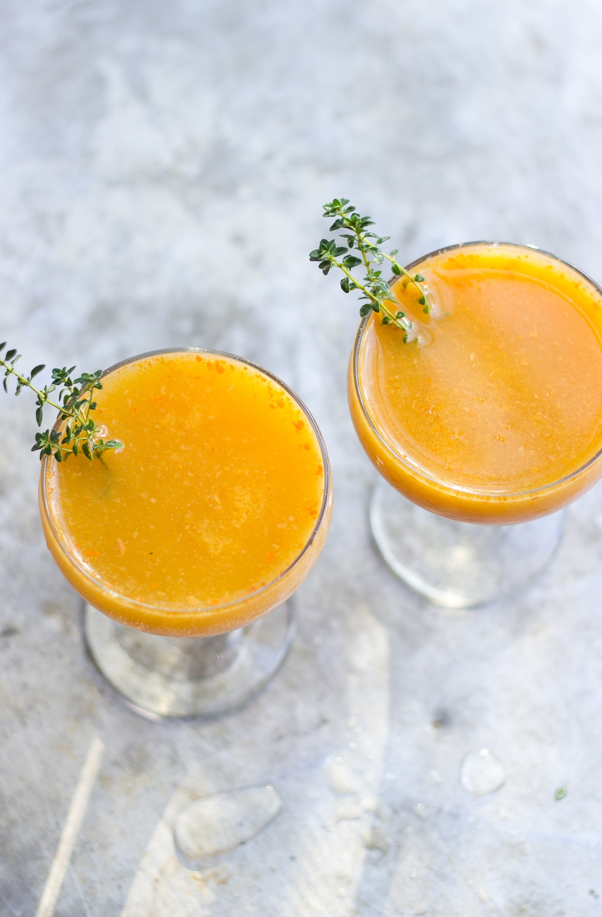 The Persimmon Punch + a few thanksgiving links!