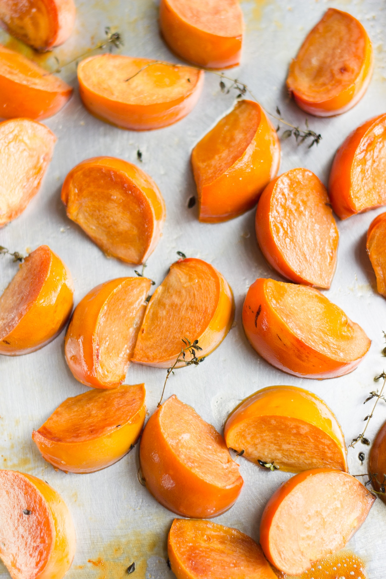 Roasted Persimmons | @withfoodandlove