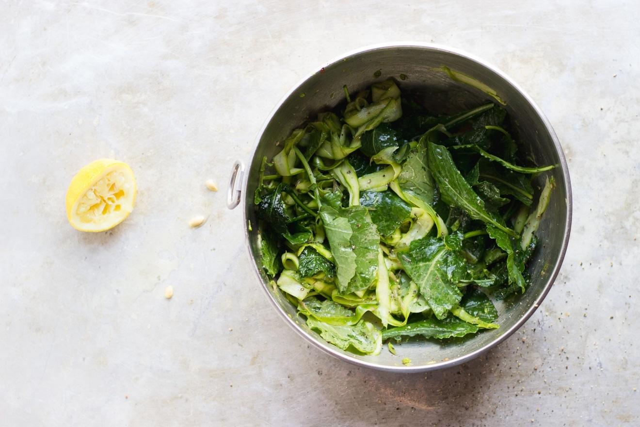 Shaved Asparagus Salad   @withfoodandlove-salad
