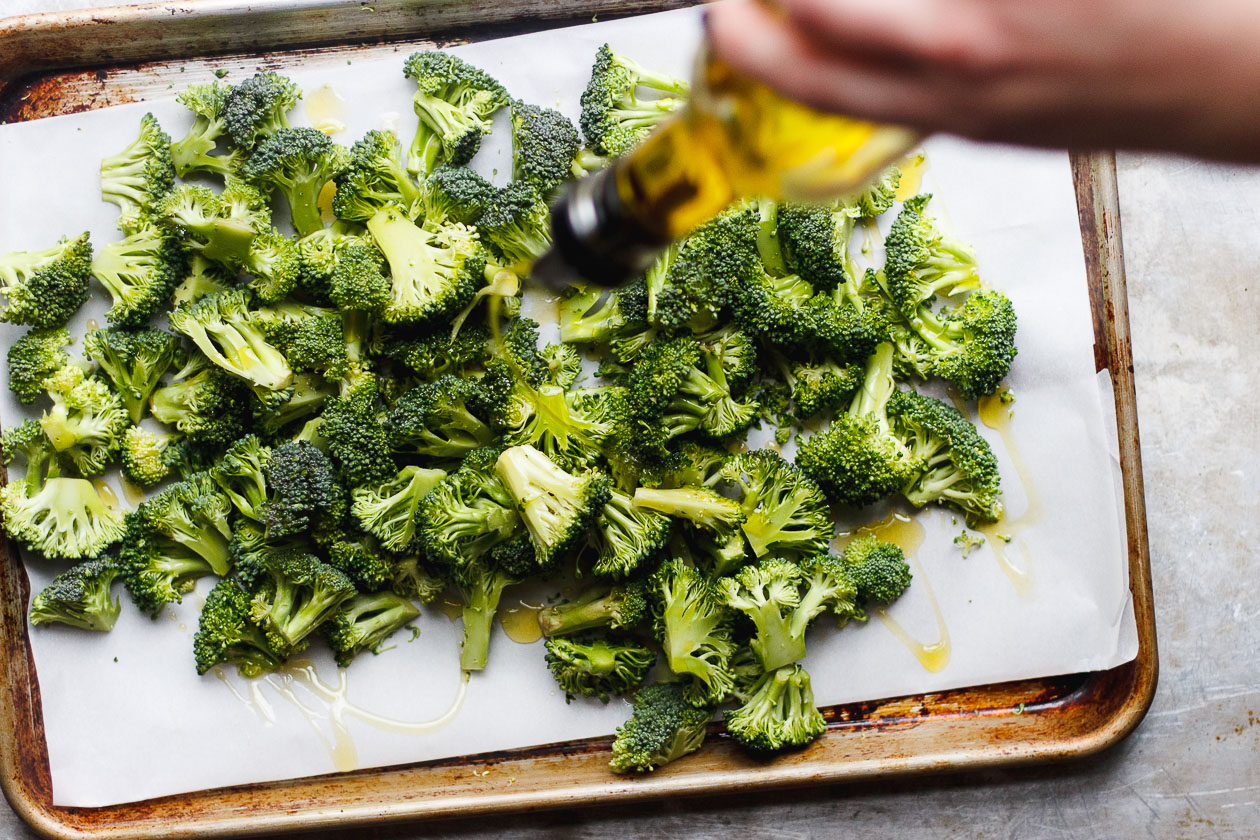 Charred Broccoli with Soy Peanut Sauce   Charred broccoli with soy peanut sauce, tossed with parsley and crushed peanuts on top. Charred broccoli with soy peanut sauce that's gluten-free + vegan.