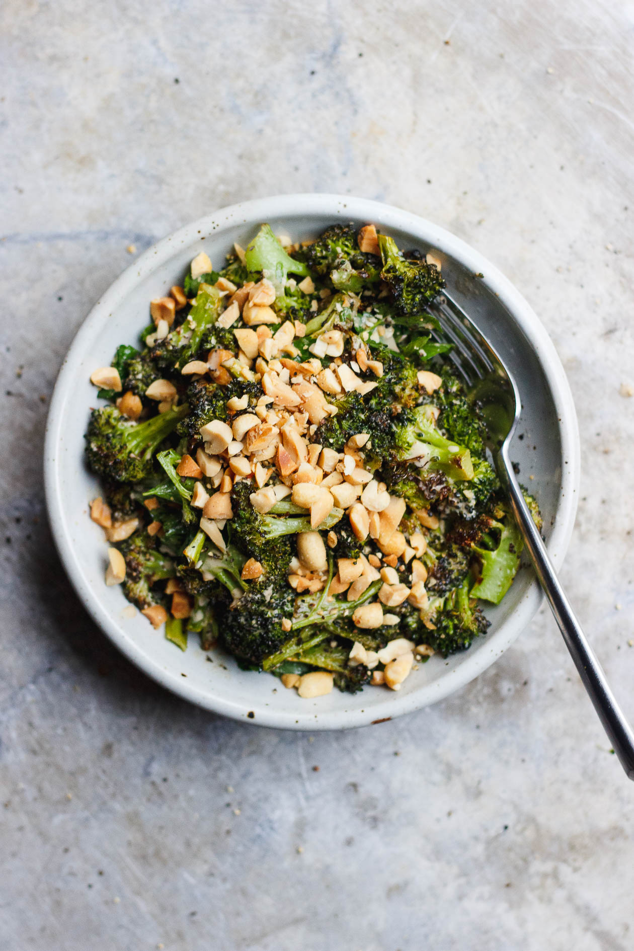Charred Broccoli with Soy Peanut Sauce + scenes from my philadelphia wedding!
