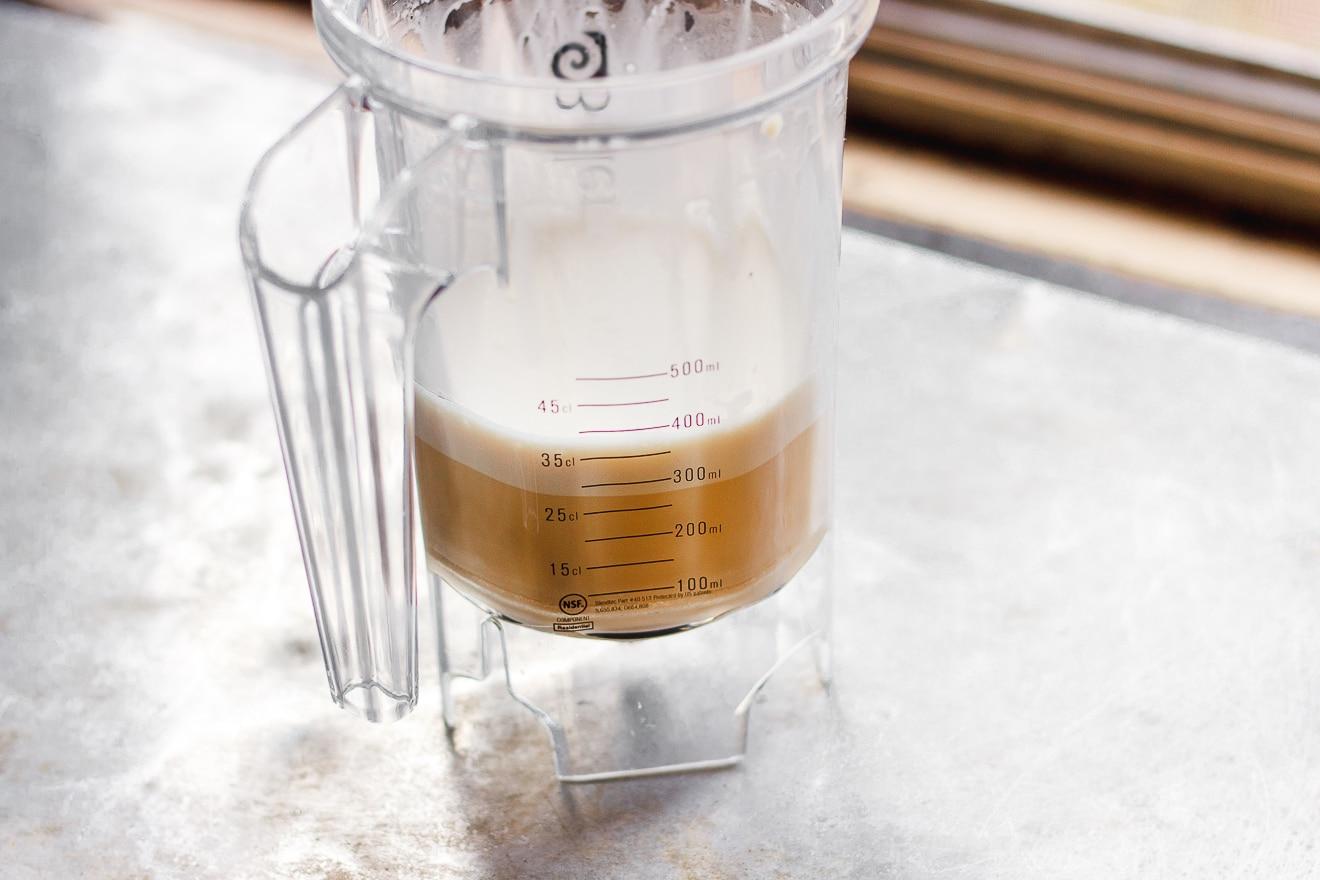 bulletproof tea in blender