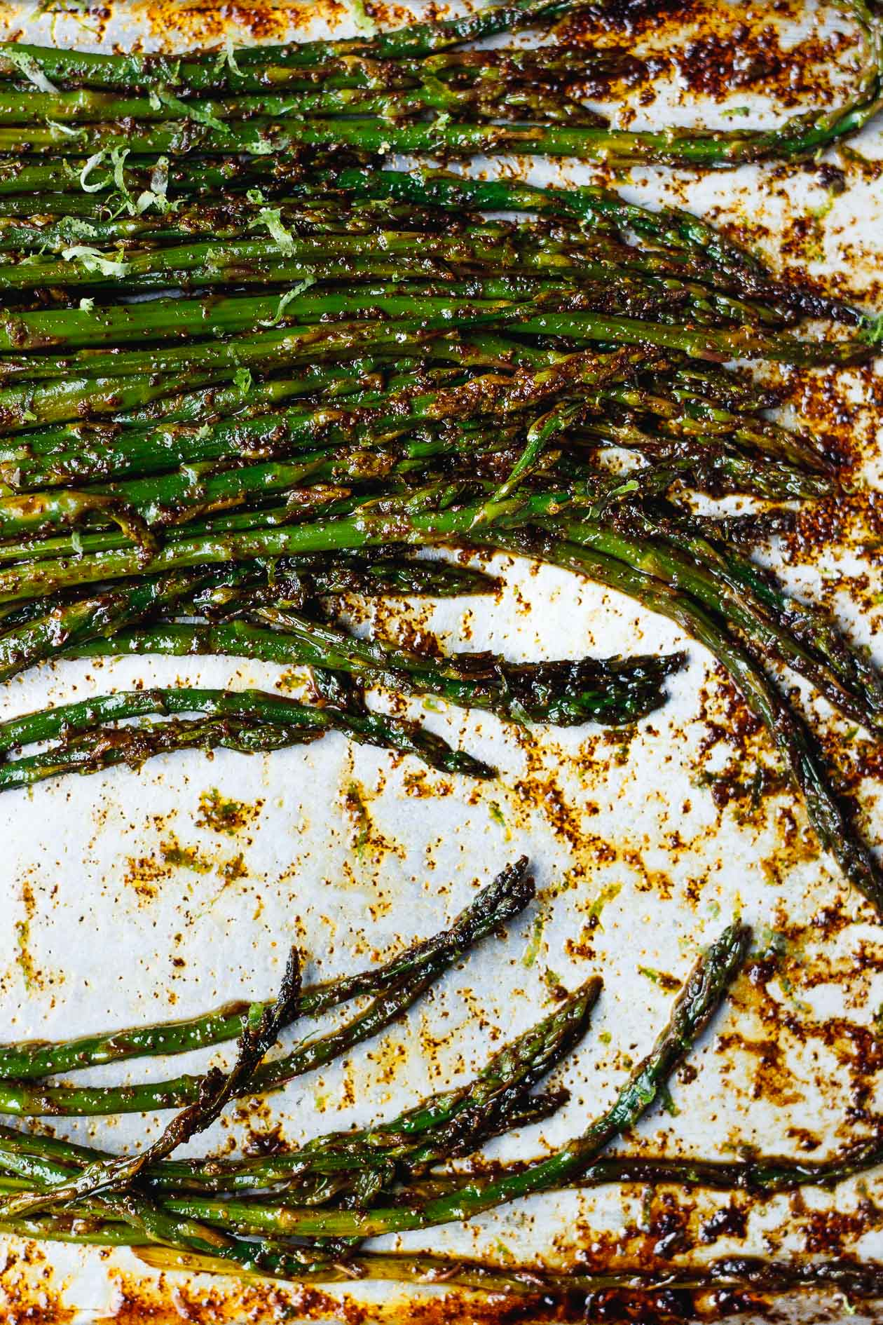 mexican asparagus with chili and lime