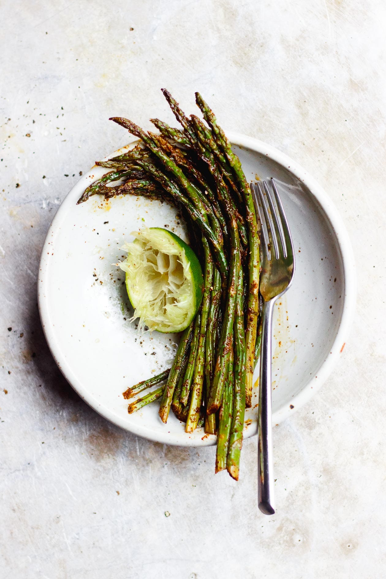 CHILI LIME ROASTED ASPARAGUS