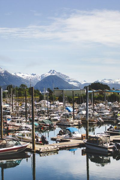 Exploring Sitka with sitka salmon shares!