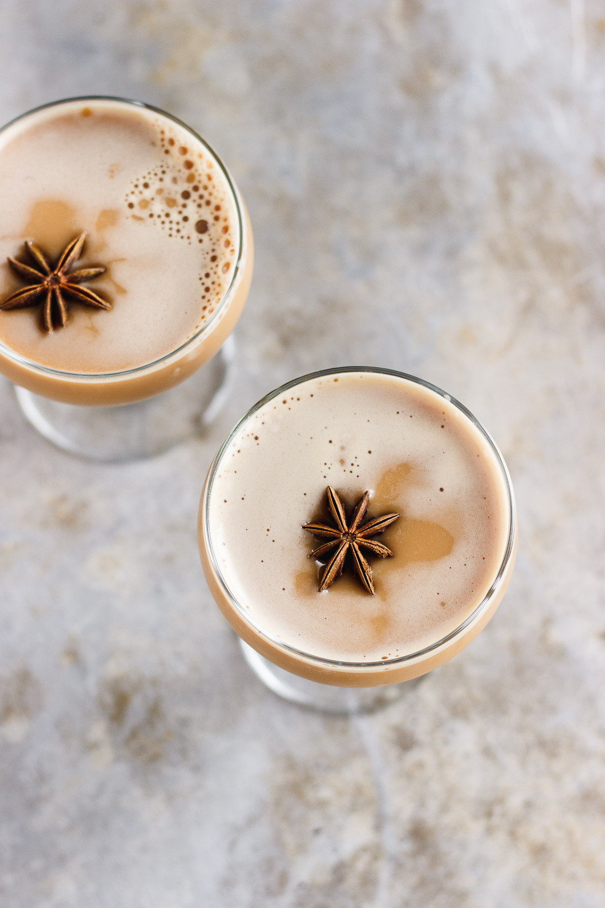 Dirty Chai Martini with Maple and Pink Himalayan Salt