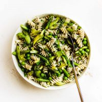 Herby Spring Pasta Salad with Lemon Vinaigrette