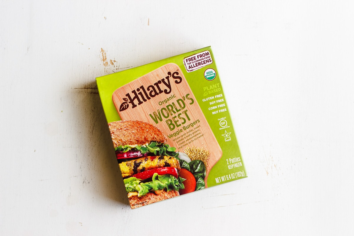 hilary's world's best veggie burger