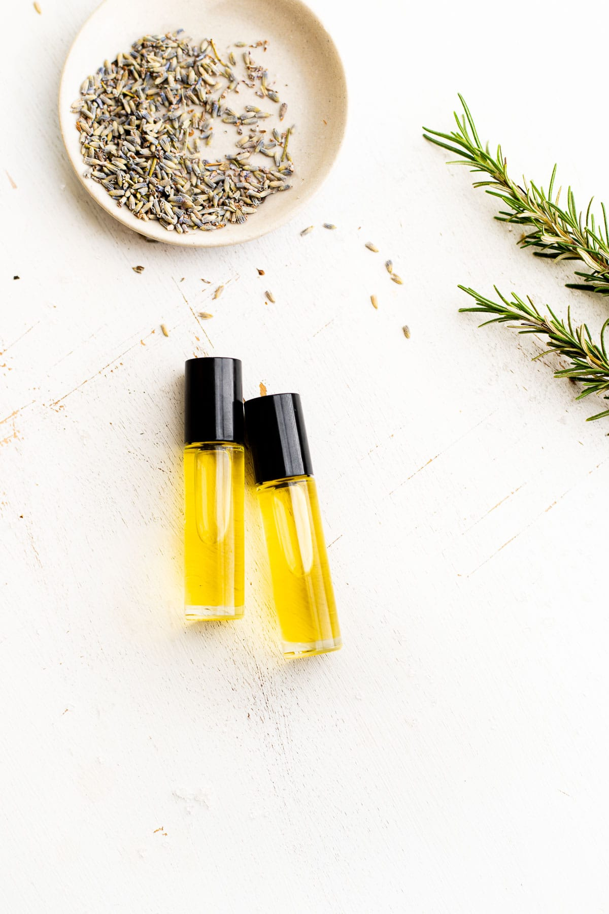 rollerball of essential oils for endometriosis