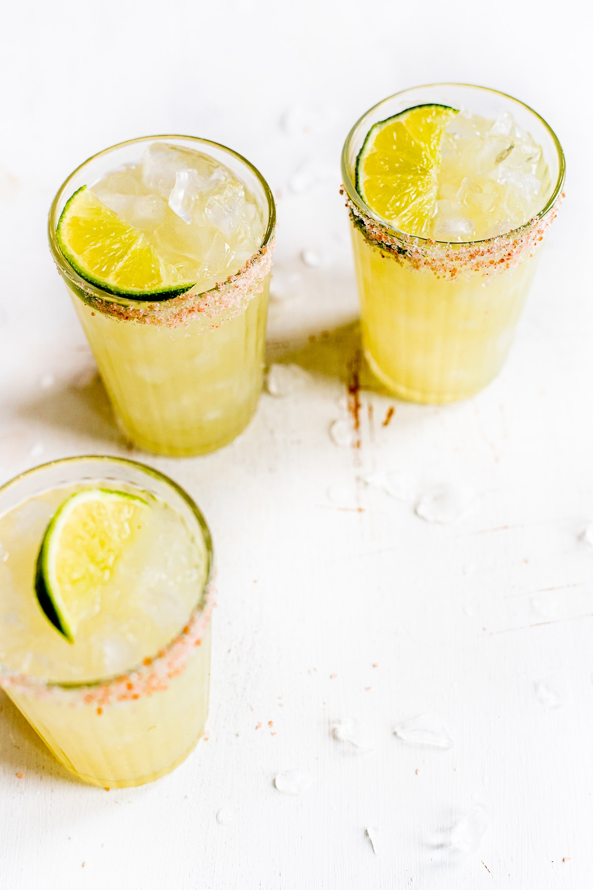 HOMEMADE SOUR MIX AND CLASSIC MARGARITAS