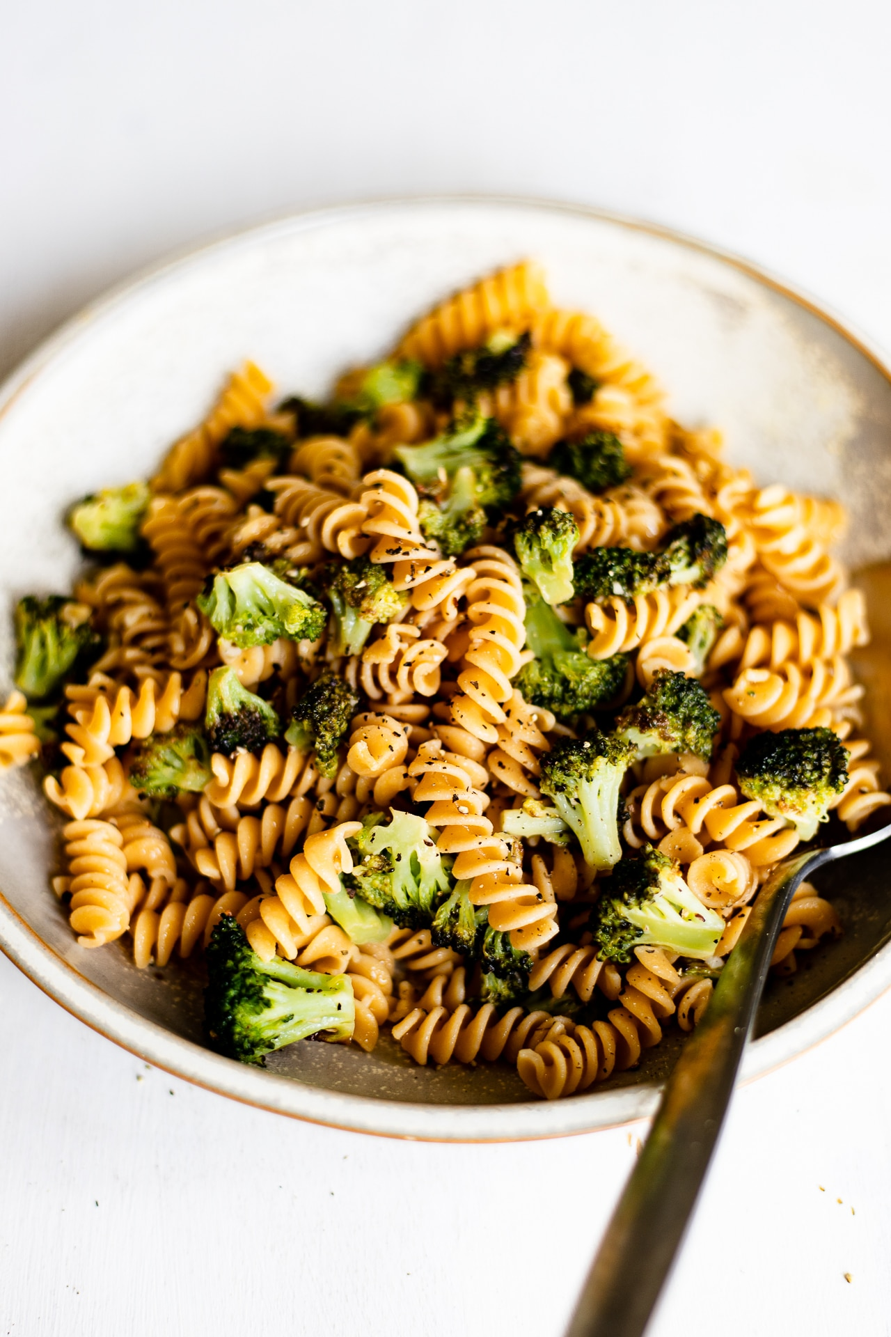 lemon pepper broccoli pasta